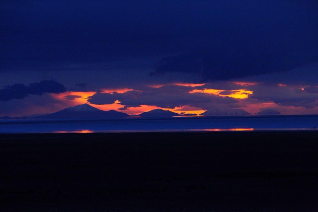 Salar sunset