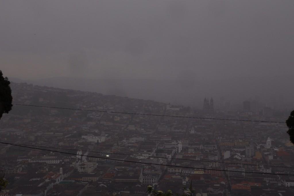 Rainy Quito